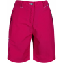 Regatta Women's Chaska Lightweight Water Repellent Hiking Shorts – Dark Cerise